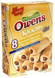 kolaches with cheddar cheese Owens Nutrition info
