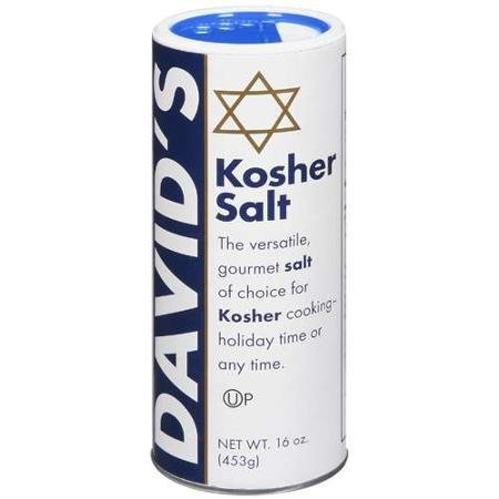 kosher gourmet salt david 's Davids Nutrition info