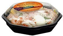 krab & shrimp louie salad Frankly Fresh Nutrition info