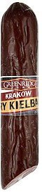 krakow dry kielbasa Greenridge Farm Nutrition info