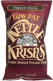 krisps low fat, french onion Kettle Krisp Nutrition info