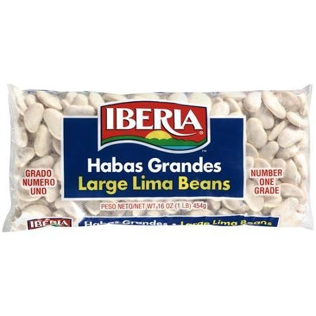 large lima beans IBERIA Nutrition info