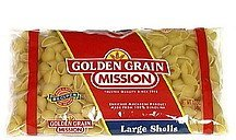 large shells Golden Grain Nutrition info