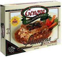 lasagna with meat Genova Delicatessen Nutrition info
