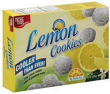 lemon cookies Niche Foods Nutrition info