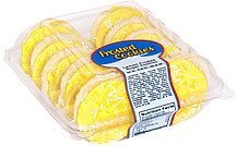 lemon frosted sugar cookies Parco Nutrition info