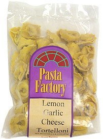 lemon garlic cheese tortelloni Pasta Factory Nutrition info