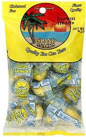 lemon heads Island Snacks Nutrition info