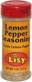 lemon peper seasoning Lisy Nutrition info