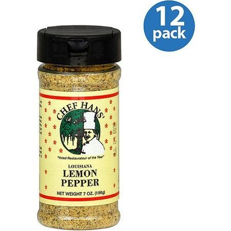 lemon pepper louisiana Chef Hans Nutrition info