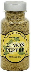 lemon pepper Olde Thompson Nutrition info