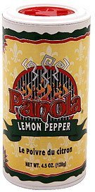 lemon pepper Panola Nutrition info
