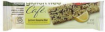 lemon sesame bar Gluten Free Cafe Nutrition info