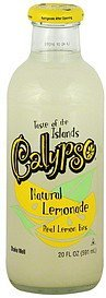 lemonade natural Calypso Nutrition info