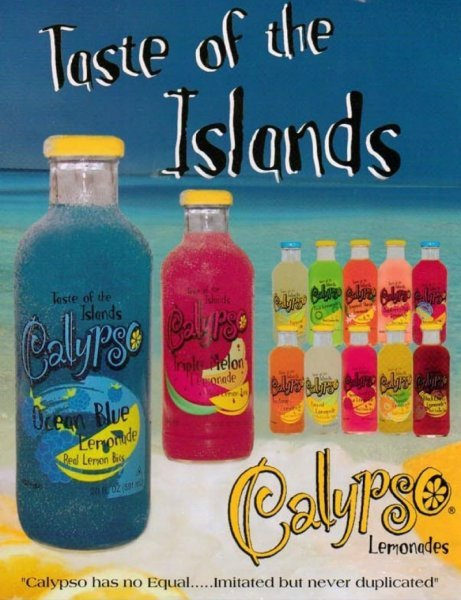 lemonade triple melon Calypso Nutrition info