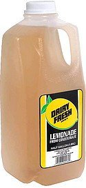 lemonade Dairy Fresh Nutrition info
