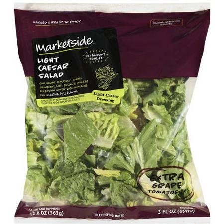 light caesar salad Marketside Nutrition info