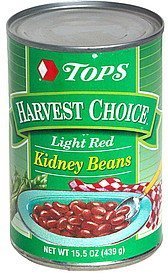 light red kidney beans Hy Tops Nutrition info