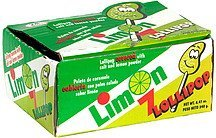 limon lollipop Lucas Nutrition info