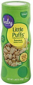 little puffs banana Baby Basics Nutrition info