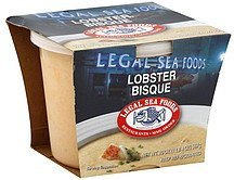 lobster bisque Legal Sea Foods Nutrition info