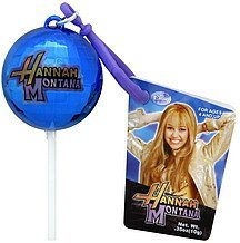 lollipop cover disco ball, hannah montana, strawberry Flix Candy Nutrition info