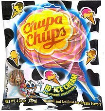 lollipops ice cream Chupa Chups Nutrition info