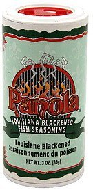louisiana blackened fish seasoning Panola Nutrition info