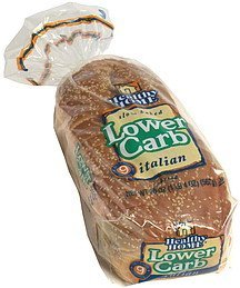 lower carb italian bread Healthy Home Nutrition info