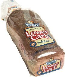 lower carb wheat bread Healthy Home Nutrition info