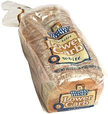 lower carb white bread Healthy Home Nutrition info