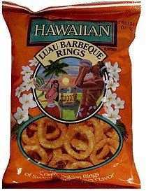 luau barbecue rings Hawaiian Nutrition info