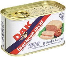 luncheon meat with natural juices Dak Nutrition info