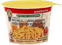 mac & cheese meal rice, instant Pastariso Nutrition info