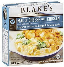 mac & cheese with chicken Blake's Nutrition info