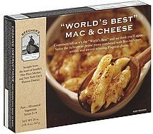 mac & cheese world's best Beechers Nutrition info