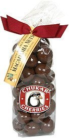 macadamia nuts chocolate double-dipped Chukar Cherries Nutrition info