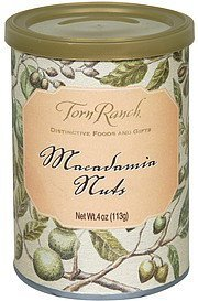 macadamia nuts Torn Ranch Nutrition info