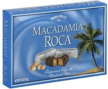 macadamia roca Brown & Haley Nutrition info
