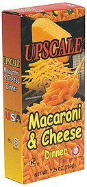 macaroni & cheese dinner Upscale Nutrition info