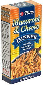 macaroni & cheese dinner Hy Tops Nutrition info