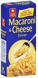 macaroni & cheese dinner Chef Karlin Nutrition info