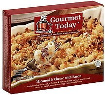 macaroni & cheese with bacon Gourmet Today Nutrition info