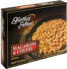 macaroni & cheese Effortless Entrees Nutrition info