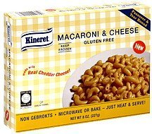 macaroni & cheese Kineret Nutrition info