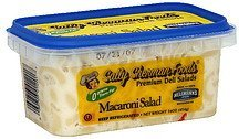 macaroni salad Sally Sherman Foods Nutrition info