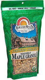 mainely maple granola GrandyOats Nutrition info