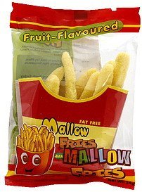 mallow fries fruit flavored, banana Candymallow Nutrition info