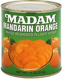 mandarin orange Madam Nutrition info