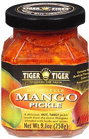 mango pickle homestyle Tiger Tiger Nutrition info